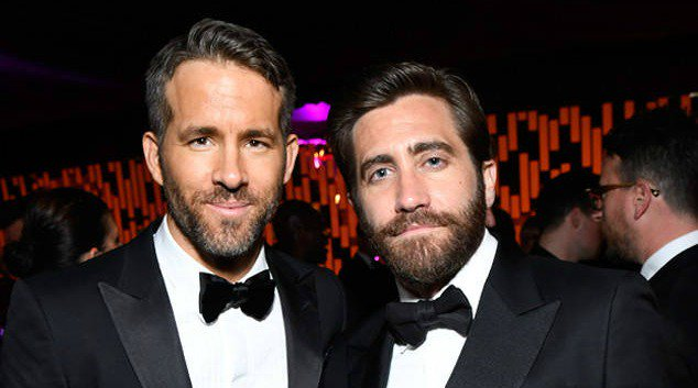 So this is the story of how Jake Gyllenhaal and Ryan Reynolds' bromance started: