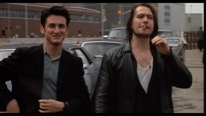 Sean penn and Gary oldman in state of grace. 1990 happy birthday Gary.