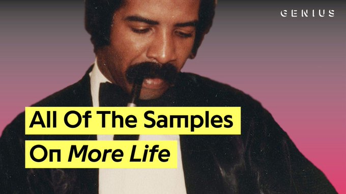 drake really came correct with these samples on 'more life' 👌