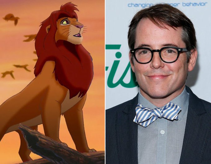 Happy birthday to Matthew Broderick, the voice of a certain lion king!