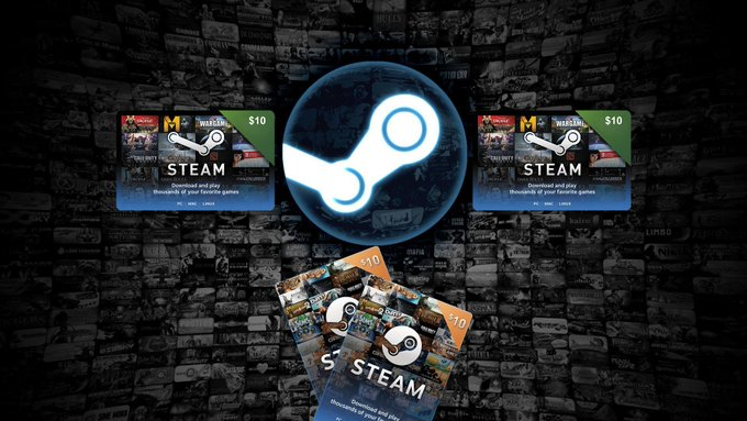 x4 $10 Steam Gift Codes