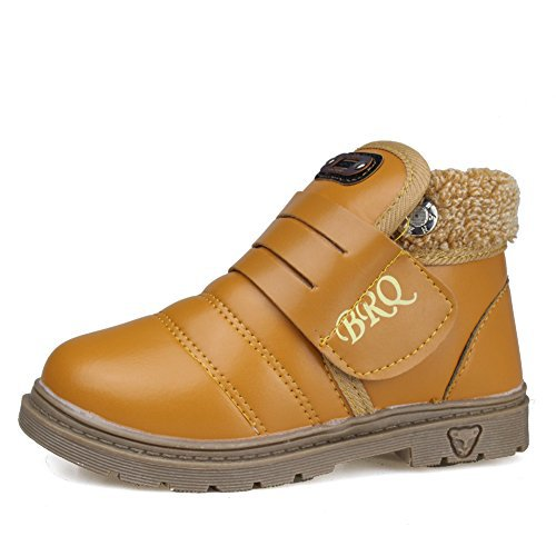 #fashion #shoes #running #free #style #giveaway #win CIOR Boys' Winter Warm Snow Boots with Fur Kids Outdoor Casual Shoes (Toddler/Little Kid)-TXMMC-Orange-24 #rt