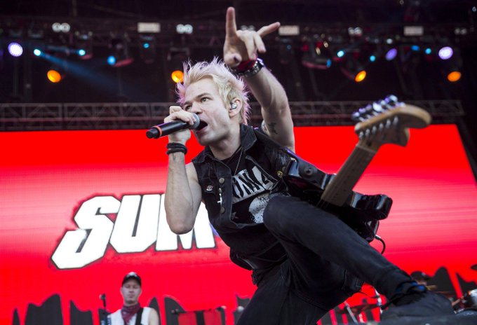 Happy 37th birthday to Sum 41 frontman Deryck Whibley!