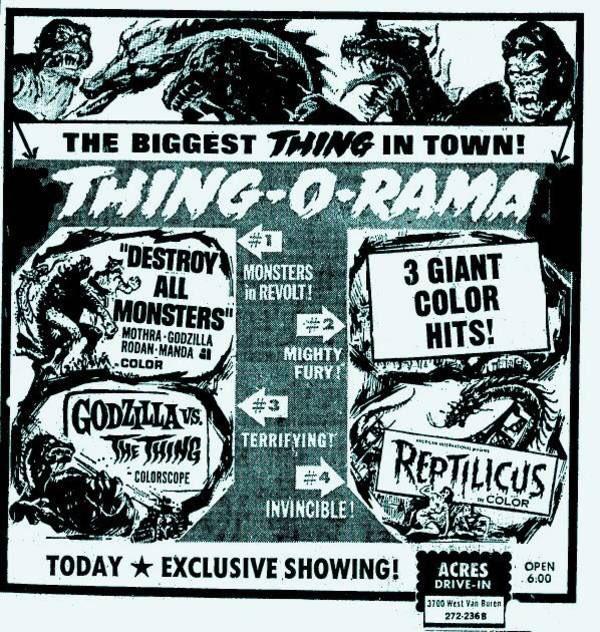 RT @TikiAmbassador: The world needs more Thing-O-Ramas. Just sayin'. #FamousMonsters #Godzilla #kaiju #movies https://t.co/nWxnR8nRQ8