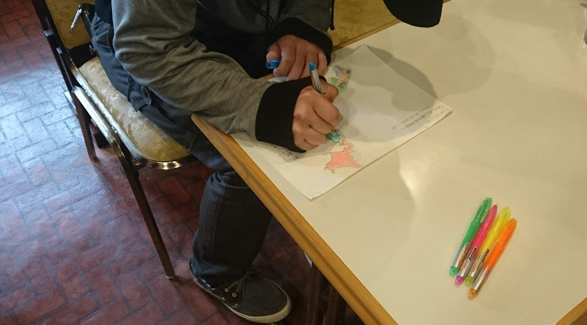 サンドさんの日本地図ついに制覇❗おめでとうございます🎉✨😆✨🎊#kyo_kai#喫茶サンド