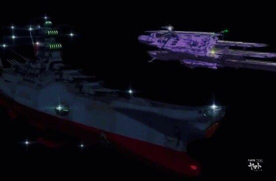 #ラストシーンにやられた映画 宇宙戦艦ヤマト2199星巡る方舟七色星団で完全にワキ役だった三段空母(しかもまさかの第二空