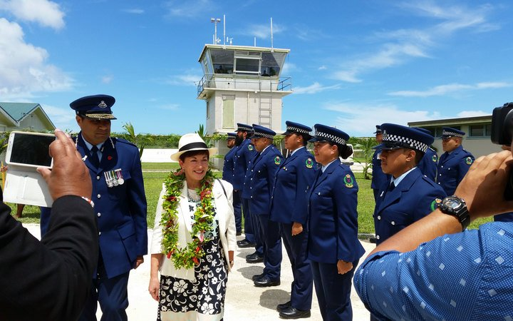 NZ Governor General arrives in Niue