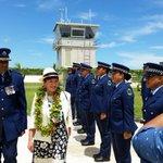 NZ Governor General arrives in Niue