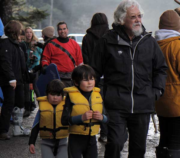 Father Nature David Suzuki, Happy 80th Birthday! Keep up the great work.