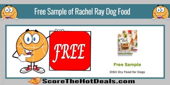 Free Sample of Rachel Ray Dish Dog Food!free freebies freebie rachelray