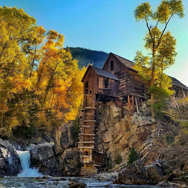 Crystal Mill, Colorado | Photography by ©Aaron Gerszewski https://t.co/svTSFBqVrY