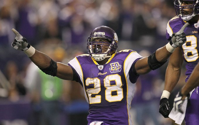 Happy birthday, Adrian Peterson