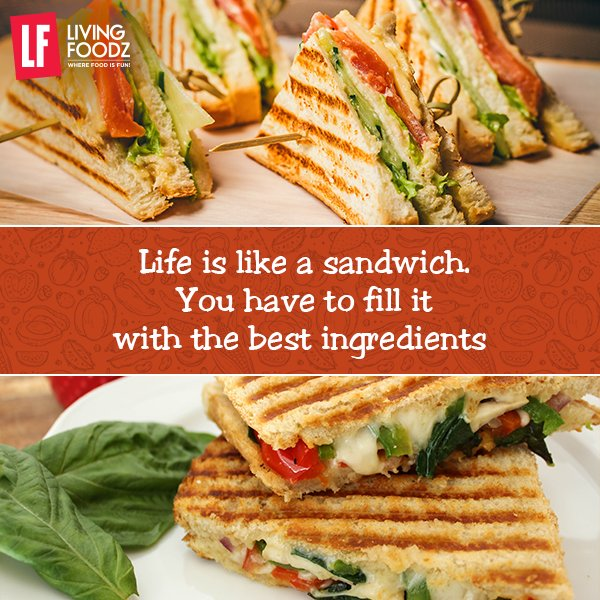 RT @LivingFoodz: If life indeed was a sandwich, what filling would you add to yours? #WednesdayWisdom https://t.co/kFgEh7UEav