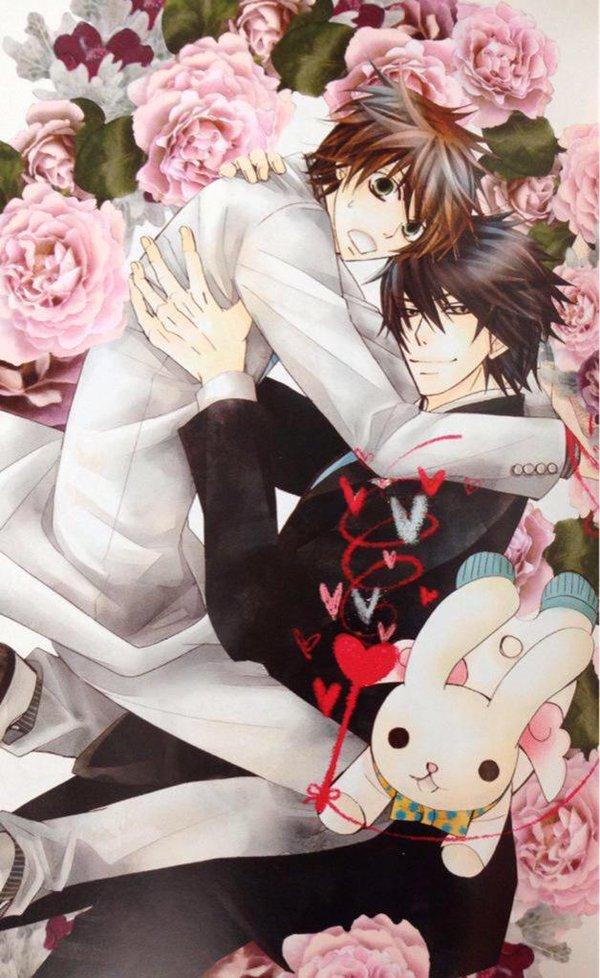『世界一初恋』&『純情ロマンチカ』薔薇に囲まれて…(^^♪