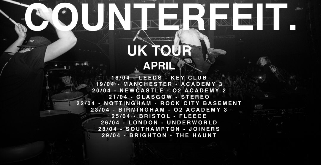 UK tour April. Get on it. Tickets and more dates from https://t.co/ArEdyMcxKq https://t.co/zoNP2f42SY