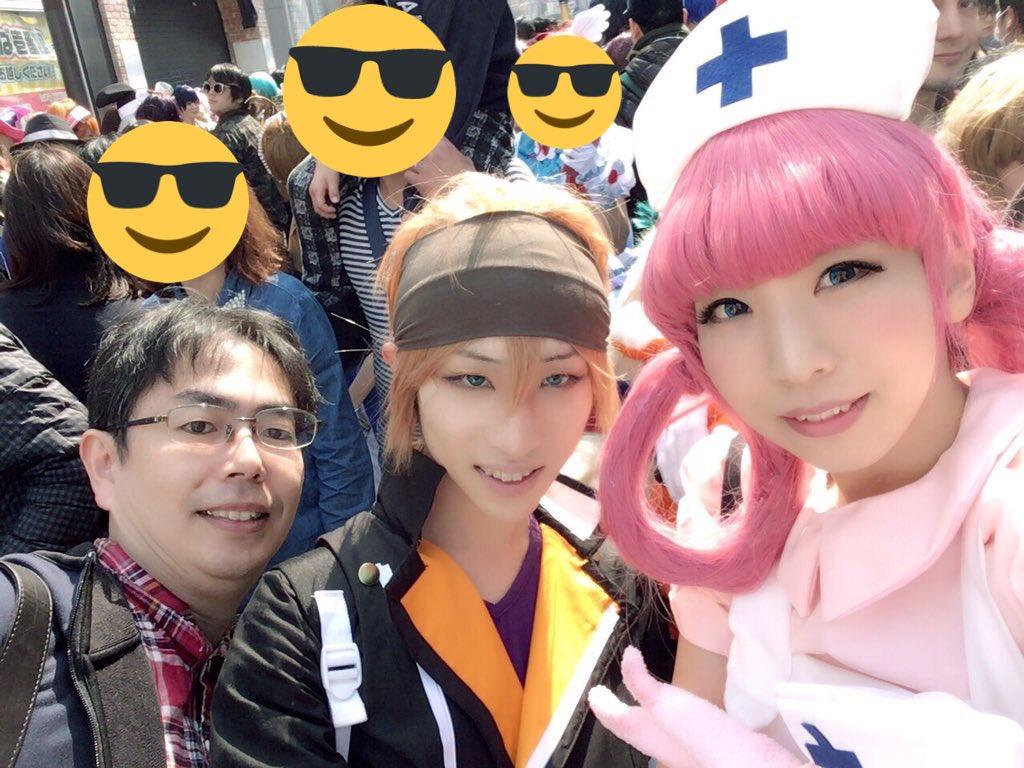 3日前のストフェスで東京レイヴンズの阿刀冬児やってきました!(今更w←)中々会えない人達に会えたから楽しかった!ありがと