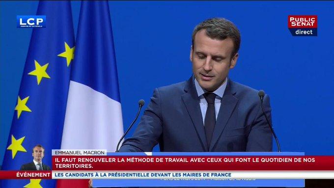Hué par les maires, Emmanuel Macron s'agace. #AMF2017 @Presidentielle2017