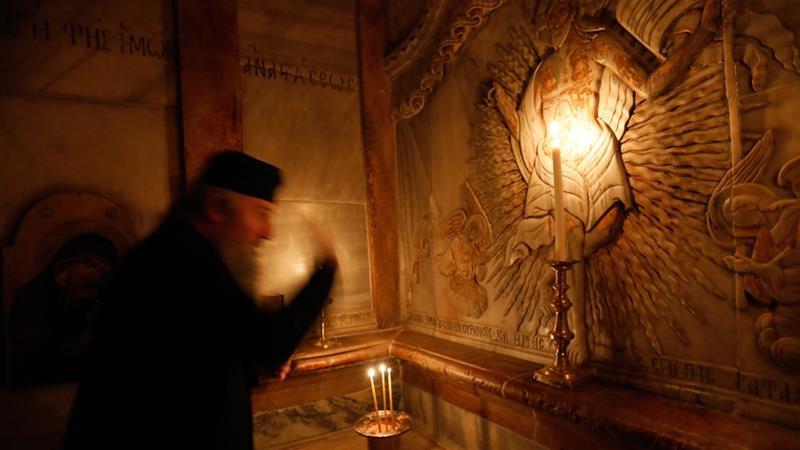 Restored shrine at Jesus's tomb reopens in Jerusalem