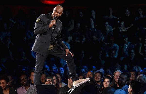 How did Dave Chappelle celebrate his new Netflix specials? With a 'secret' comedy show