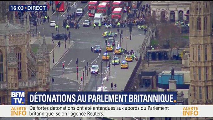 DIRECT #Londres Au moins 10 blessés retrouvés sur le pont de Westminster https://t.co/CBD4rBFWK5