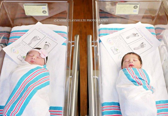 Bebês chamados Romeo e Juliet nascem em quartos vizinhos em hospital nos EUA ❤️❤️ https://t.co/oT3W8qegyf #G1