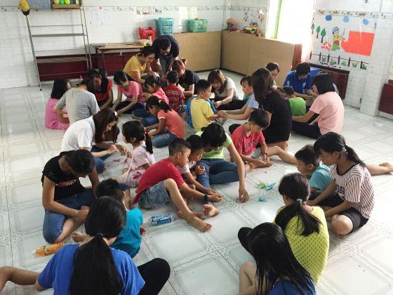 Singaporean runs orphanage in Vietnam to help street kids