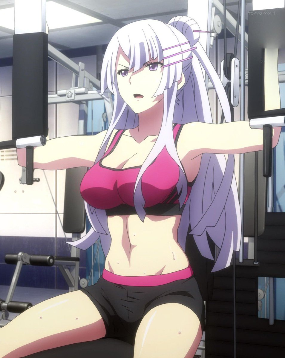 筋トレしてるだけなのにフローレイティアさんマジでエロいわいい体しすぎだろ(筋肉質な女の子無理って思ってたけどフローレイテ