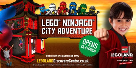 #AD Hone your awesome ninja skills at the brand new ultimate LEGO® Ninjago® City Adventure & kids go free https://t.co/WOdGSwCNWQ