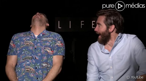 Ryan Reynolds et Jake Gyllenhaal ingérables pendant une interview https://t.co/Inw1uH7IuI