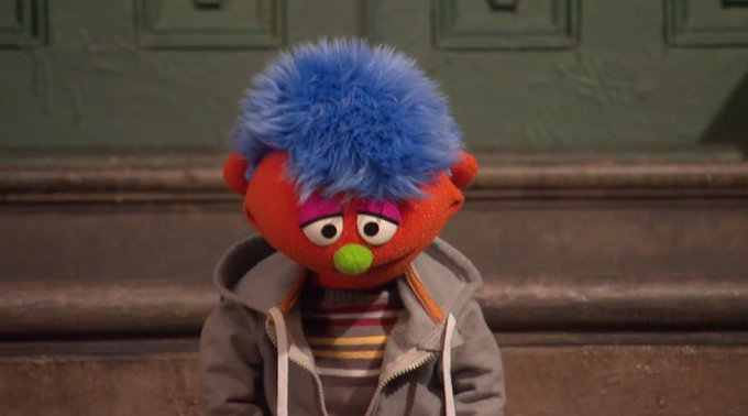 .@sesamestreet introduces a new Muppet who has a father in jail: https://t.co/Lui8v3r4UE