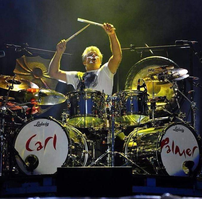 Happy belated Bday to one my musical heroes, Carl Palmer....