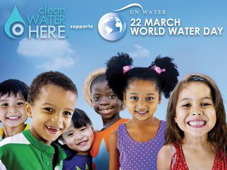 W is for the worldwide effort to help kids get #CleanWaterHere  #W4Water #WorldWaterDay  https://t.co/Z4hxgjLoLQ https://t.co/8I9KzzlSms
