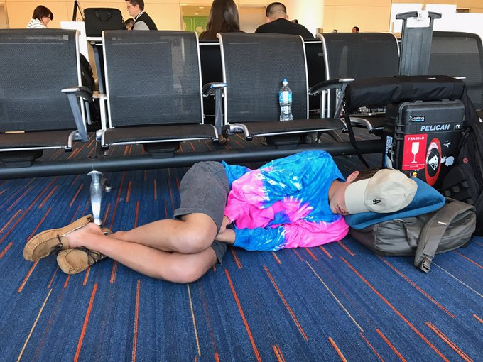 Airport life...