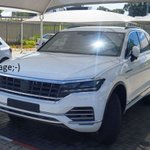 2017 Volkswagen Touareg - new image reveals full front-end styling