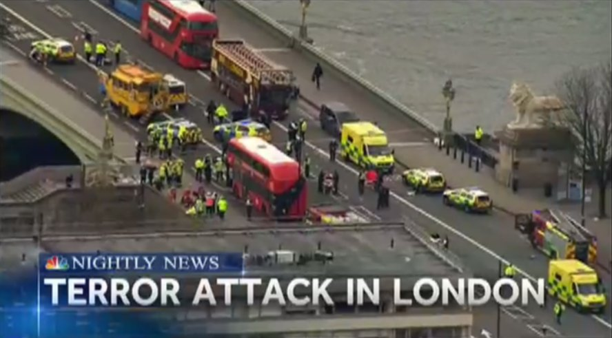 ALERT: The London Terror Attack: Many dead and injured outside UK Parliament.  The latest LIVE now on @NBCNightlyNews.