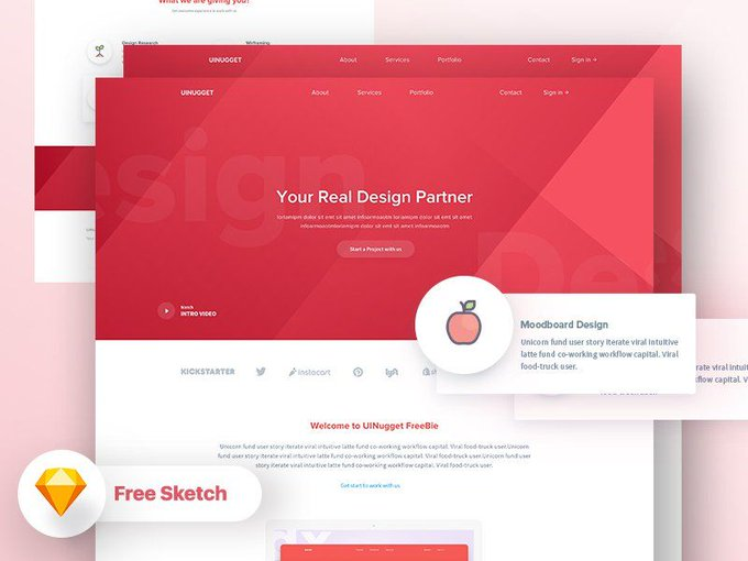 Your Real Design Partner    Template by DreamboyRaaz freebie