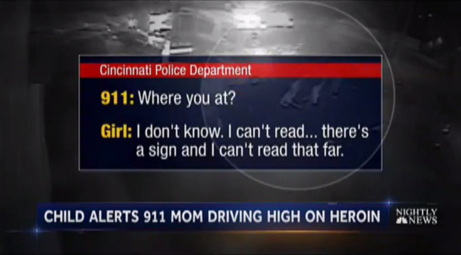 Terrified child heard calling 911 as parents overdose while driving, police say.  @BlakeNBC reports now on @NBCNightlyNews.