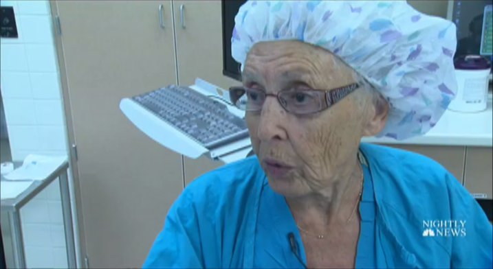 Meet America's oldest working nurse: See See Rigney, 91. #InspiringAmerica  @catiebeck11 reports now on .@NBCNightlyNews