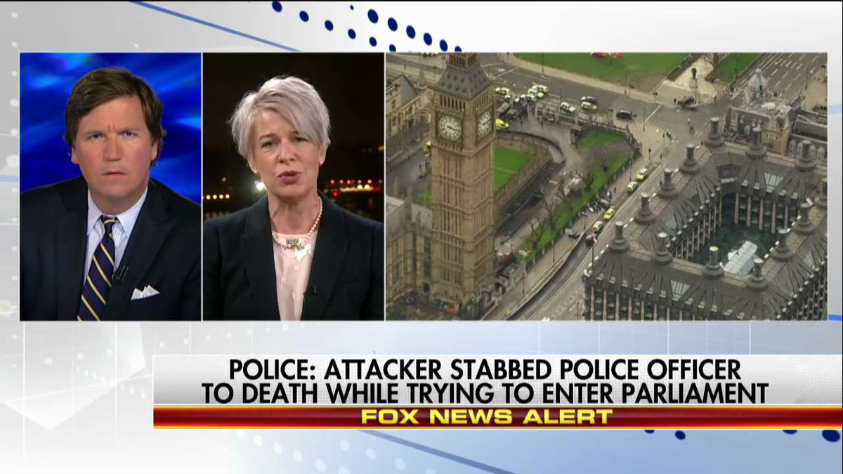 .@KTHopkins on UK terror: 'People are cowed. People are afraid. And people are not united.' #Tucker