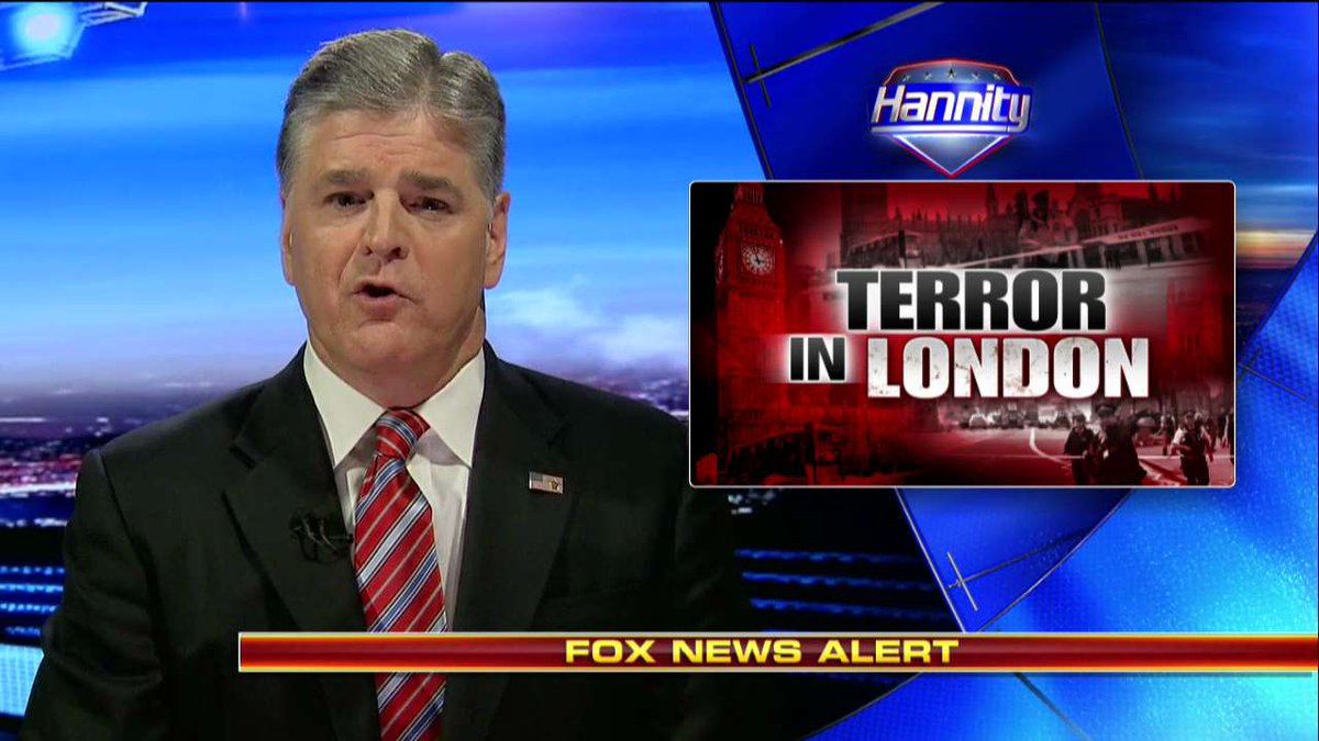 ".@seanhannity: ""Sadly, today's attack in #London is all too familiar for the people of Europe."" #Hannity"