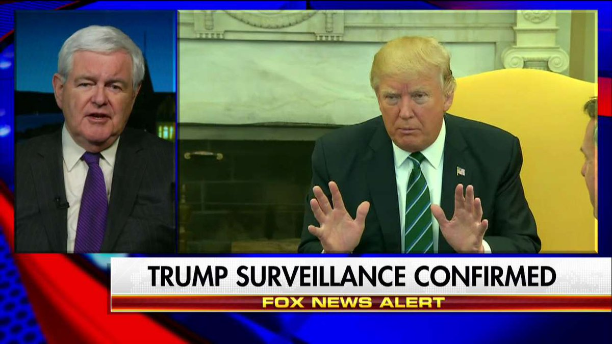 ".@newtgingrich: ""This is really very, very sobering about Americans' civil liberties."" #Hannity"