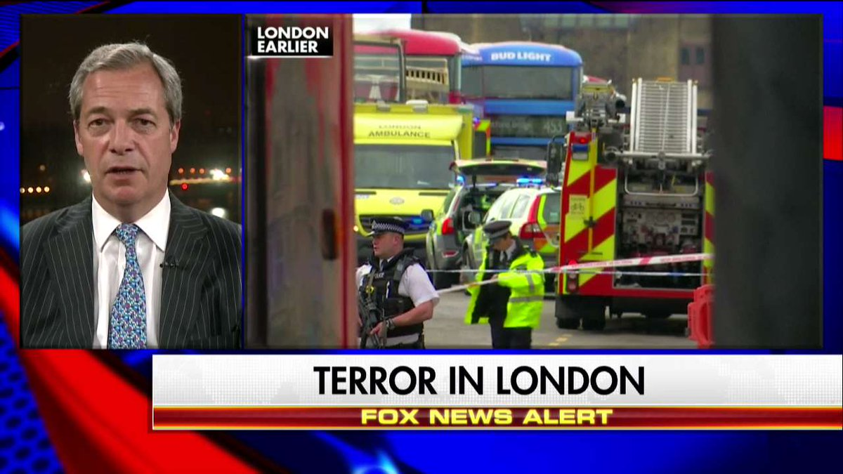 ".@Nigel_Farage: ""If you open your door to uncontrolled immigration from Middle Eastern countries you are inviting in terrorism."" #Hannity"