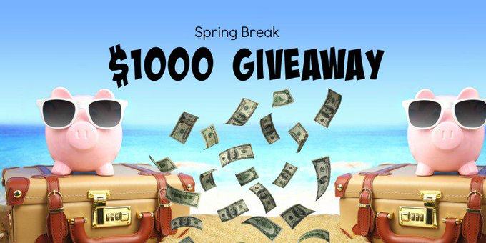 Barbie's Beauty Bits: Spring Is In The Air And So Is A $1000 Cash Giveaway!