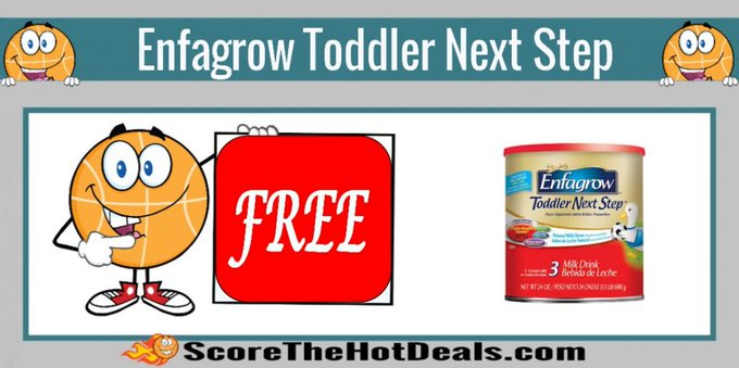 **FREE** 10 Oz. Enfagrow Toddler Next Step!free freebie freebies freesample