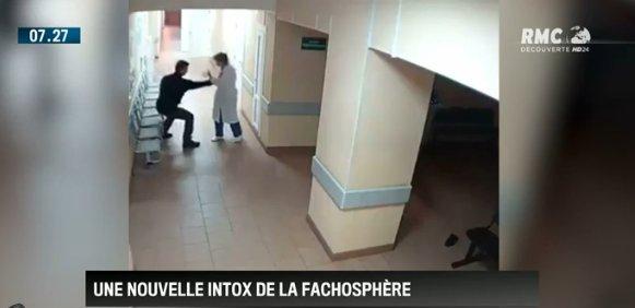 Le 'migrant qui frappe des infirmières' sur cette vidéo virale était en fait... un Russe alcoolisé #BourdinDirect