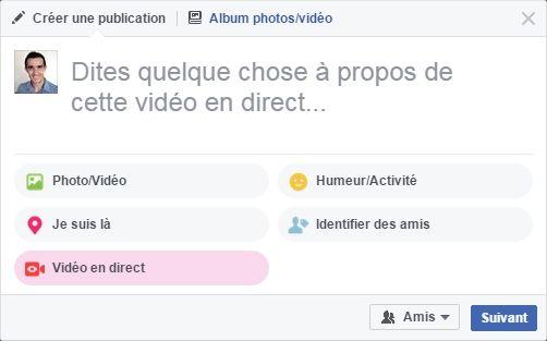 Nouveauté Facebook : lancer un live depuis son ordinateur https://t.co/A4iENNOLhe