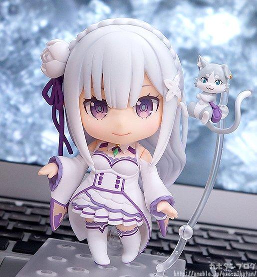 『Re:ゼロから始める異世界生活』ねんどろいど エミリアが3月24日(金)より予約受付開始!#rezero #リゼロ #