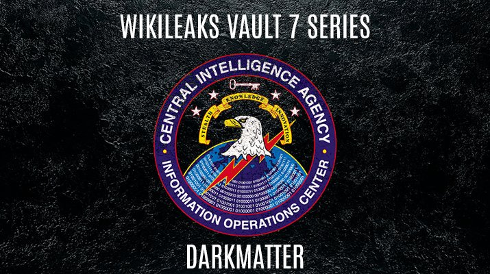 RELEASE: CIA #Vault7 'Dark Matter' https://t.co/drdaVhtb53