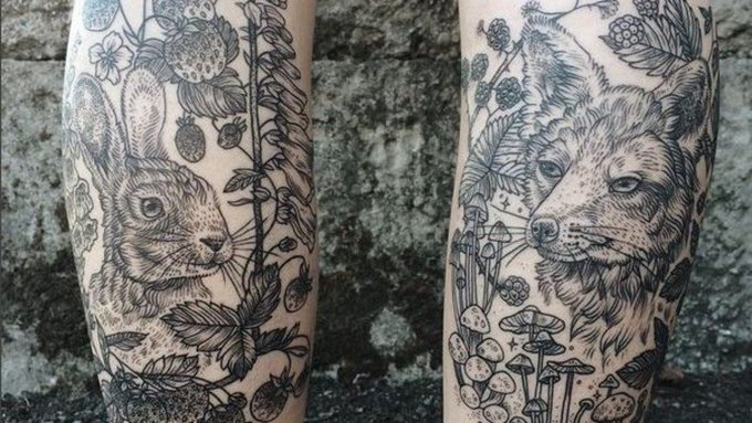 Exquisite tattoo designs inspired by the natural world https://t.co/mm76tVbDYg