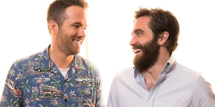 So bro-mantic! Jake Gyllenhaal shows he can make LifeMovie costar Ryan Reynolds blush ?